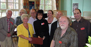 Chetham's Summer Piano Festival 2007 with fantastic faculty members (from left to right) Ronald Stevenson, Yonty Solomon, Susan Batterney, Graham Scott, Noriko, Vanessa Latarche, Bernard Roberts, Peter Donohoe, and Phillipe Cassard