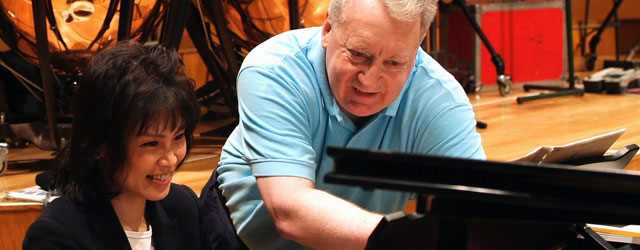 Working with David Atherton, BBC Radio 3 © R. Cohen